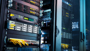 A picture of a server providing hosting solutions to a local Perth company.