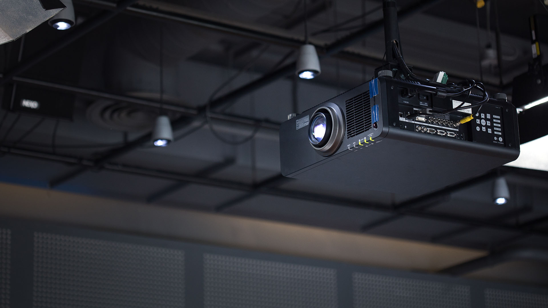 image of a projector for a local business in western australia