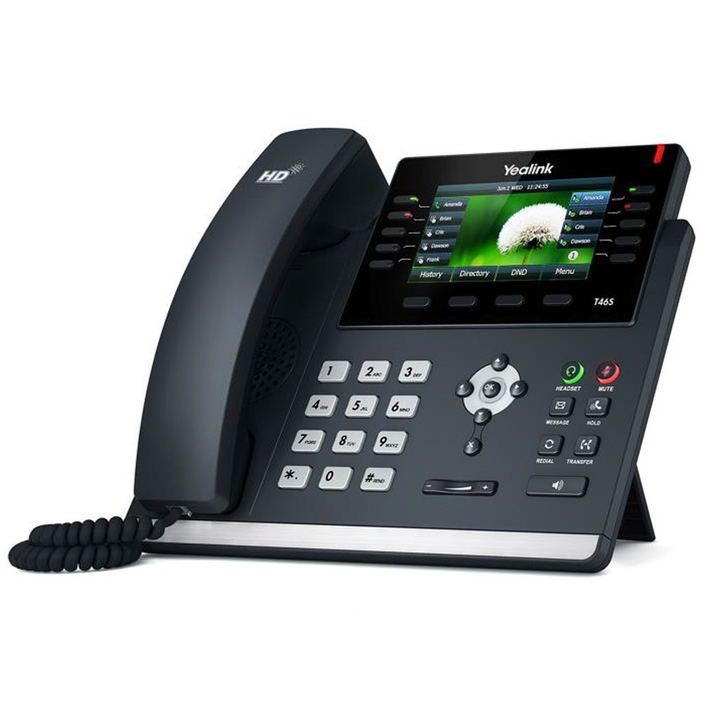SIP-T46S A Revolutionary SIP Phone for Enhancing Productivity from CBM Corporate, who offeres managed services in Perth