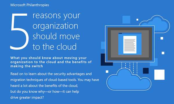 5 Reasons your organization should move to the cloud